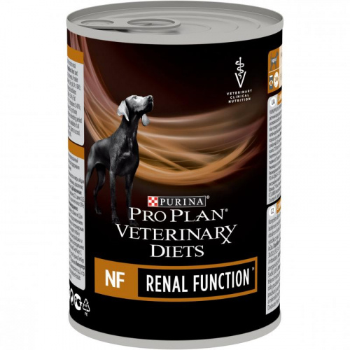 Влажный корм Pro Plan Veterinary diets NF корм для собак при патологии почек, Консерва, 400 г